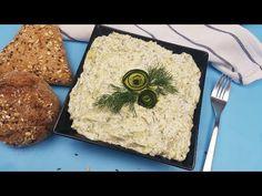 SECRETELE mele pentru Salata de dovlecei cu maioneza (diferita de ce stiati pana acum). - YouTube No Cook Desserts, Hummus, Zucchini, Healthy Recipes, Healthy Food, Make It Yourself, Cooking, Ethnic Recipes, Nicu
