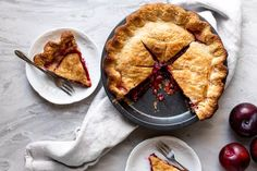 11 Types of Pies Every Baker Should Know Plum Pie Recipe, Pie Pastry Recipe, Pastry Recipes, Pie Recipes, Baking Recipes, Holiday Pies, Holiday Desserts, Types Of Pie, Classic French Dishes