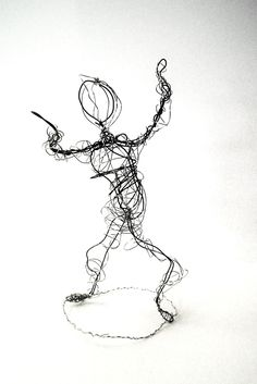 Lessons from the K-12 Art Room: Wire Figures