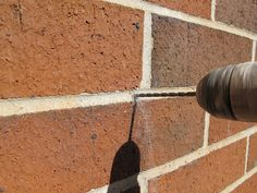 great resource-how to hang things on brick or sheetrock and how to repair afterwards