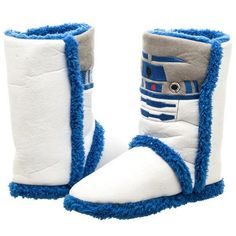 Star Wars R2D2 Boot Slipper