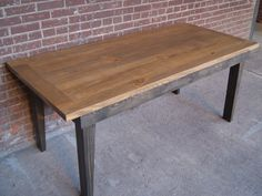 Farm Table / Farmhouse Table / Farm House Table / Harvest Table / Rustic Table/ Tapered Leg FarmTable