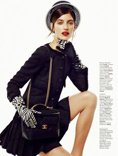visual optimism; fashion editorials, shows, campaigns & more!: t'as le look coco: marikka juhler by alvaro beamud cortes for stylist france ...