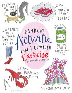 A CUP OF JO: Sneaky exercise