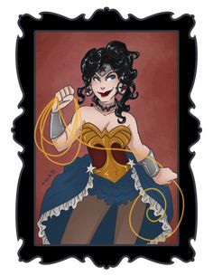 "Wonder Woman ""Desperate Housewives"" Terri Hatcher style me thinks!"