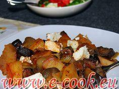 Λαχανικά με φέτα στο φούρνο.   Συνταγές μαγειρικής e-cook.gr