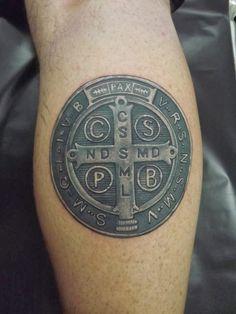medalla de san benito ideas fabulosas para mis tattoos pinterest tatuajes. Black Bedroom Furniture Sets. Home Design Ideas