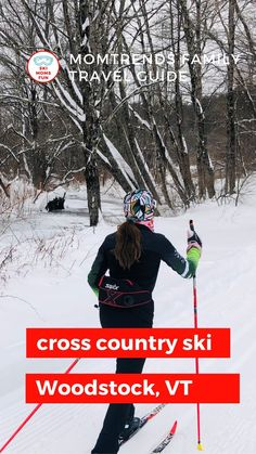 Is this the year you try Nordic skiing? It's a wonderful winter sport that the whole family can enjoy. Start planning your Vermont winter adventures at the Woodstock Nordic Center. This cross country ski center has everything you need to explore on skinny skis. #vermont Nordic Center, Vermont Winter, Nordic Skiing, Ski Gear, Cross Country Skiing, Best Places To Travel, Winter Sports, Travel With Kids, Woodstock