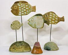 Vissen maken van klei
