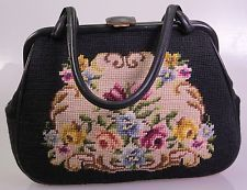 Bella PETIT POINT Borsa, Borsa Trachten (a 74)