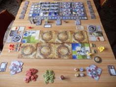 Sid Meier's Civilization: The Board Game - a 2 player set-up