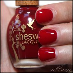 """Sheswai Nail Lacquer in """"Fersure""""  http://www.misebeauty.com/brands/s/sheswai.html"""