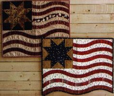 Intense love for this Flag quilt