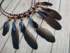 Selling Handmade Items, Handmade Shop, Handmade Jewelry, Tribal Necklace, Leather Necklace, Fashion Necklace, Fashion Jewelry, African Jungle, Natural Colors