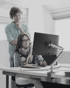 The Z1 monitor arm is a small but mighty addition to any office desk. See link for more information.