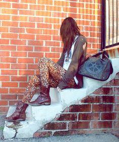el print de leopardo ♥