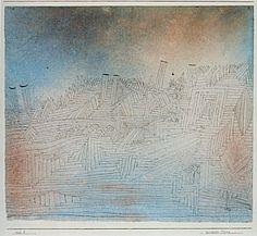 Paul Klee 'Olympus in Ruin' 1926