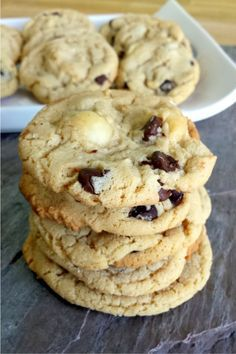 Sausalito Milk Chocolate Macadamia Nut Cookies