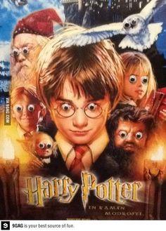 Harry Potter + googly eyes= hilarious!