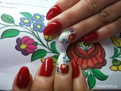 kalocsai nails - Google Search