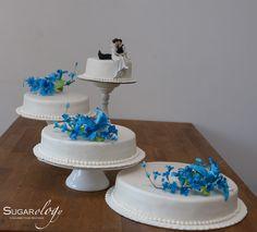 how to make a split wedding cake