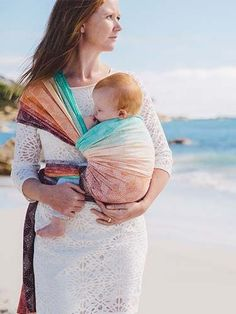 Starry Night Noosa Bamboo Organic Cotton Baby Wrap by Oscha Slings
