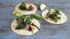 Grilled Veggie Tacos with Avocado Cream Recipe   The Chew - ABC.com