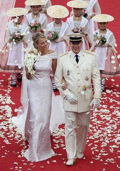 Prince Albert II and Princess Charlene of Monaco