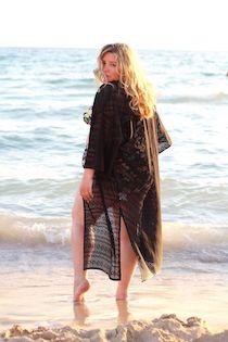 Outfits 2015 | Theodora Flipper Curvy Bikini, Curvy Swimwear, Summertime, Kimono, Cover Up, Bohemian, Plus Size, Body Positive, Chic