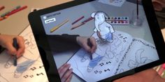 disney research app for drawing