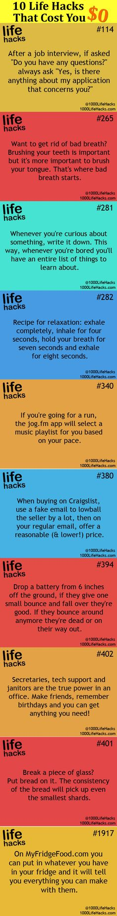 Those Life Hacks Can't Change Your Life Forever, But It Will Make You Happy…