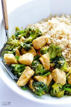Looking for healthy and easy dinner ideas? Try these 35 awesome ideas for healthy dinner recipes, you'll find lots of delicious and flavorful recipes that make the perfect quick healthy dinner. Whether you're looking for healthy Broccoli Recipes, Healthy Chicken Recipes, Healthy Dinner Recipes, Cooking Recipes, Chicken Broccoli, Recipe Chicken, Broccoli Salads, Mushroom Broccoli, Fast Recipes