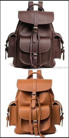 Fashion Three Pockets PU Smooth Large School Backpacks #bag #Backpack #school #college Lace Backpack, Retro Backpack, Messenger Bag Backpack, Backpack For Teens, Laptop Backpack, Fashion Backpack, Cute Backpacks, Girl Backpacks, School Backpacks