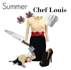 """""""Chef Louis"""" by jivy44 ❤ liked on Polyvore featuring moda, Victorinox Swiss Army, Doublju, Just Female, Style & Co. e Fox Run"""