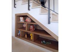 40 nouvelles idées pour utiliser l'espace libre sous un escalier