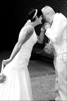 Lesbian, wedding, Love