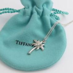 Authentic Tiffany silver necklace palm tree New never worn. Absolutely beautiful!! Tiffany & Co. Jewelry Necklaces