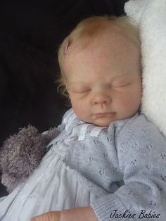 "Jackies Babies~REBORN Baby ""LUCY"" Limited Ed. Newborn GIRL by Tina KEWY 