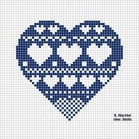 Herzquilt - Zählmuster- Teilnehmerliste - Design Online Grundkurs - New Ideas Wedding Cross Stitch Patterns, Cross Stitch Designs, Cross Stitching, Cross Stitch Embroidery, Heart Quilt Pattern, Cross Stitch Pictures, Cross Stitch Heart, Embroidery Monogram, Design Set