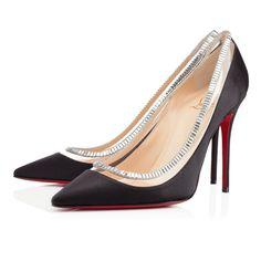 PAULINA STRASS CREPE SATIN/PVC/STRASS 100 mm, SILVER, Strass, Women Shoes