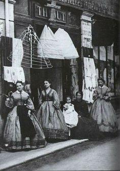 Women in the beginning of the last century.