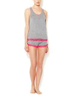 Sweetheart Short Pajama Set by Honeydew Intimates at Gilt