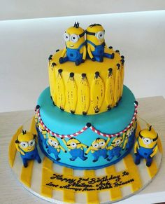 TAG YOUR FRIENDS 👯👫❤ WHO WANTS. MINIONS CAKE #minions #Gifts #GiftIdeas #Quotes