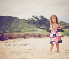 Girls Sun Dress / Pink and Blue Patchwork / 12 by weestitchery, $42.00