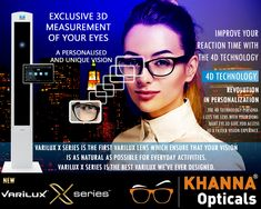 b686e11b434a8 Varilux X series is the first Varilux lens which ensure that your vision is  as natural