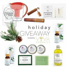"""A """"Green Holiday"""" Giveaway In the spirit of the holidays love unity and quality time enter to win $275 worth of skin body cosmetic and wellness treats from BC! Join the loop giveaway and meet 6 brands who together are gifting a complete green beauty and wellness indulgence! To enter: FOLLOW @elatecosmetics LIKE this giveaway photo TAP this photo and go to the next brand in the loop FOLLOW next brand and LIKE the giveaway photo on their account CONTINUE until you complete the loop and return…"""