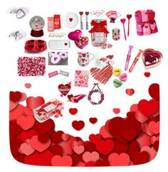 """Love Ya! Happy Valentines Day"" by annaz1003 ❤ liked on Polyvore featuring arte"