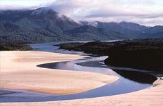 The remote New River Lagoon, #Tasmania #Australia More: http://www.parks.tas.gov.au/?base=2265