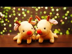 Rudolph Reindeer Sock Plush Tutorial