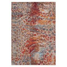 Teppich Felicia Woven - Kunstfaser - Mehrfarbig - 152 x 243 cm, Safavieh